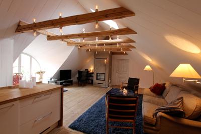 Mangårdsbyggnaden vardagsrum